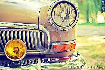 Photo of retro car