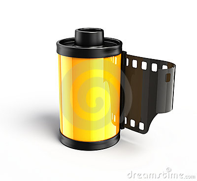 Photo spool for film
