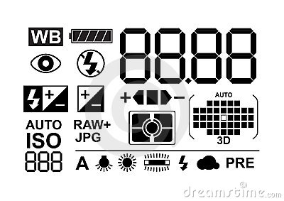 Photo symbols collection