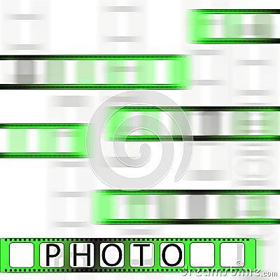 Photo tape.