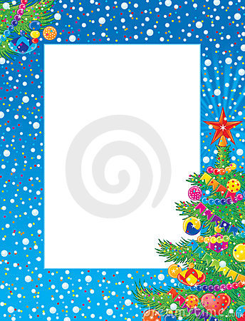 Photo-trame de Noël