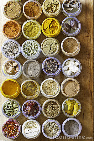 Photo of various spices all over the world