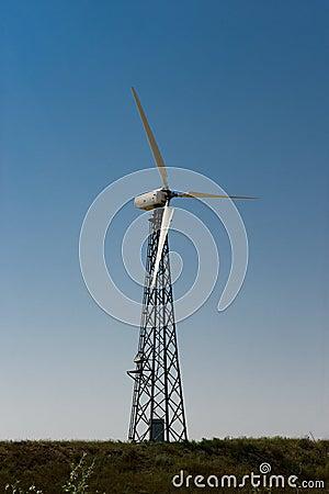 Photo wind generator