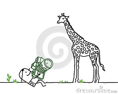 Photograph & giraffe