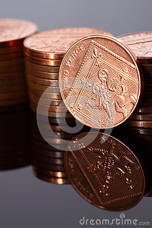 Two pence coins B