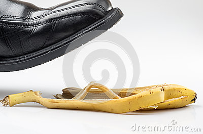 Domestic accident royalty free stock images image 29781069 for How to keep shoes from slipping on floor