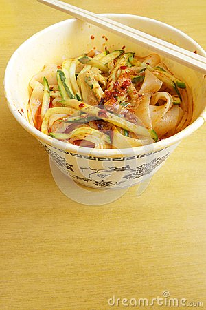 how to cook cold chinese noodles dish
