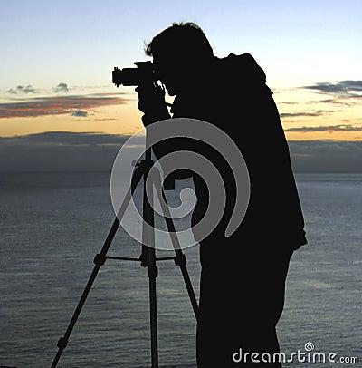 Photographe d horizontal