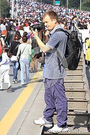 Photographer Editorial Stock Photo
