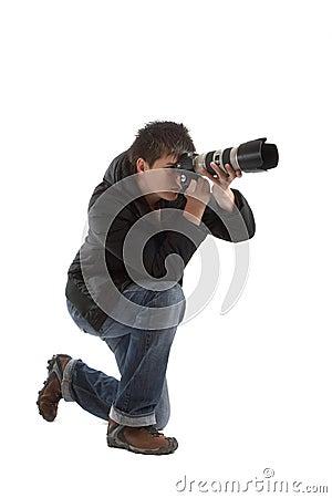 Free Photographer Royalty Free Stock Photos - 2145108