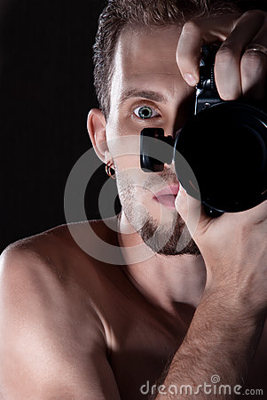 Free Photographer Stock Photography - 26161342