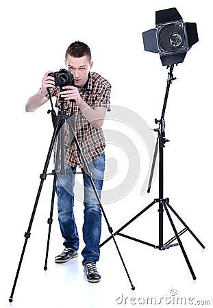 Free Photographer Stock Image - 39064311