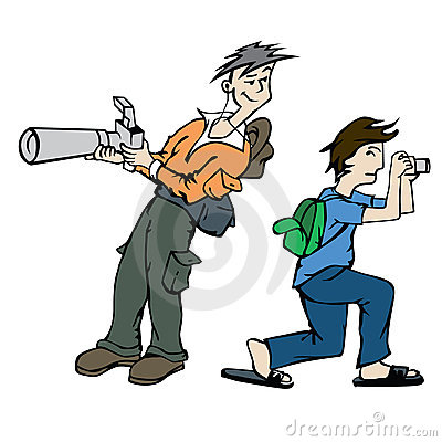 Free Photographer At Work Royalty Free Stock Images - 21768849