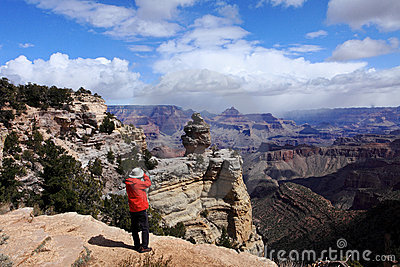 Photographer,Grand Canyon