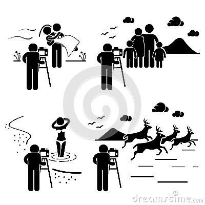 Photographer Photography Outdoor Pictogram