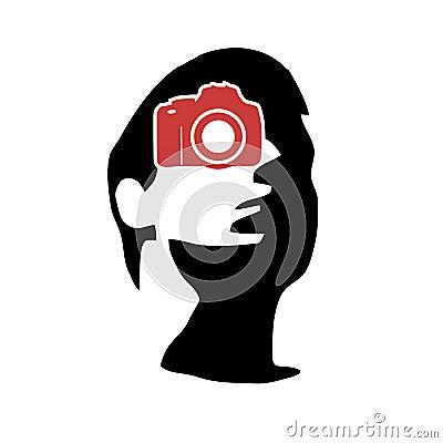 Photographer portfolio logo