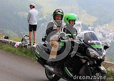 Photographer s Bike Editorial Photo