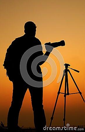 how to take silhouette photos dslr