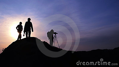 Photographer at Sunrise