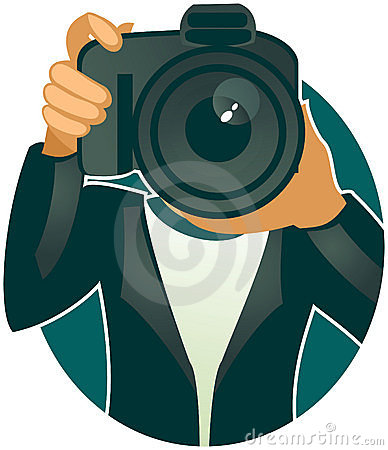 Photographer (vector)