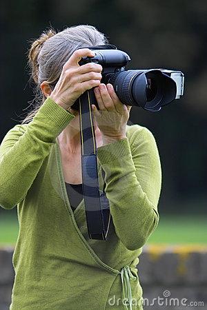 Photographer at work