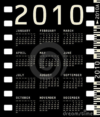 Photographic Calendar for 2010