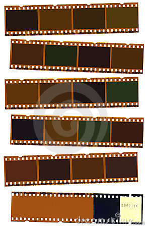 Free Photographic Film Strip Stock Image - 3499061