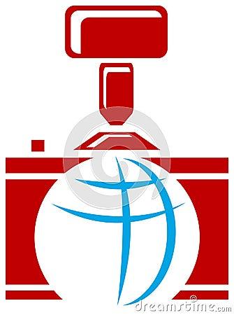 Photographic logo