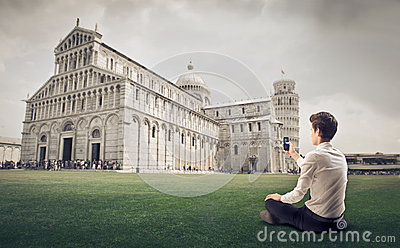 Photographing the Pisa s Duomo