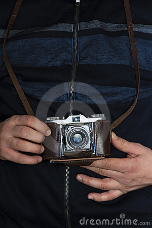 Photographing with a vintage camera