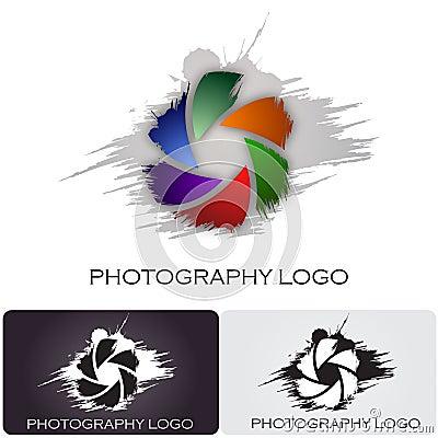 Free Photography Company Logo Brush Style Stock Images - 26500854