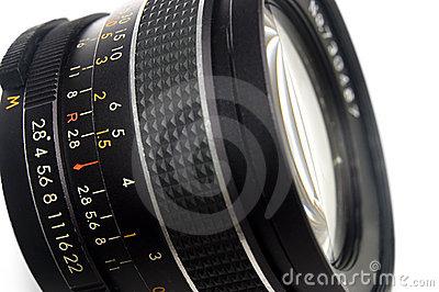 Photography lens close up