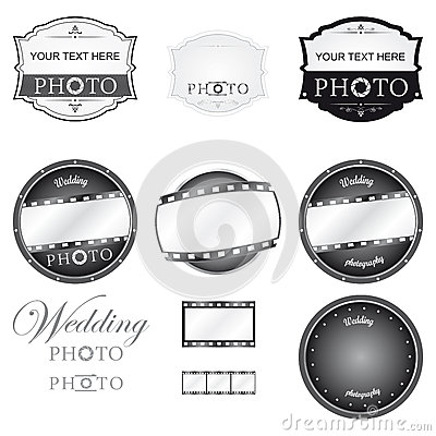 Free Photography Logo Set Vector Royalty Free Stock Images - 30716149