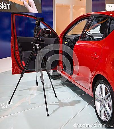 Photography at a motorshow