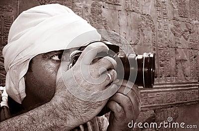 Photojournalist at Work