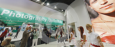 PHOTOKINA, COLOGNE - SEPT.23.2012 Editorial Photo