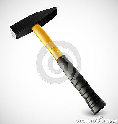 Photorealistic hammer