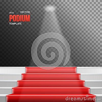 Red Carpet Animation White Transparent Background Stock ...