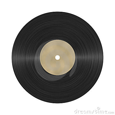 Photorealistic vinyl record