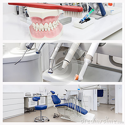 Photos of a dentists office