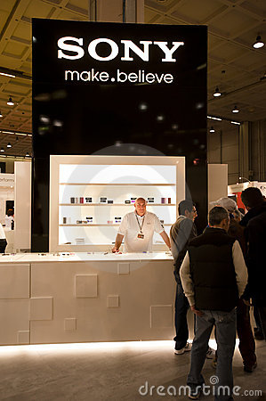 Photoshow: Sony stand Editorial Photography