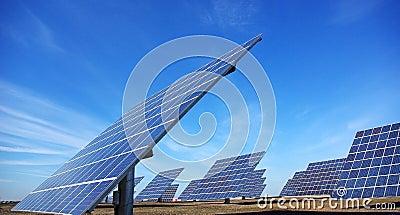 Photovoltaic central.