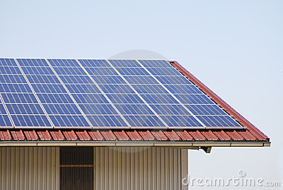 Photovoltaic roof
