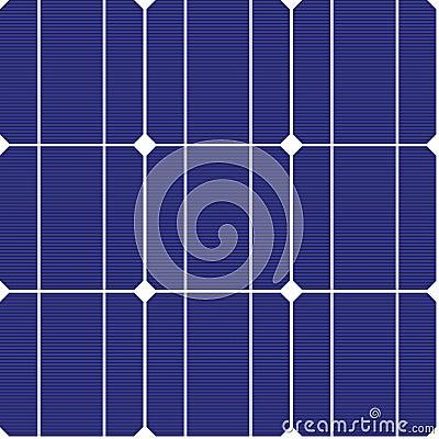 Photovoltaic seamless pattern