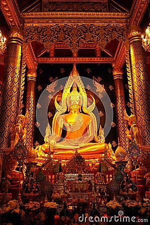 Free Phra Buddha Chinnarat Wat Phra Si Rattana Mahathat Royalty Free Stock Image - 17351116