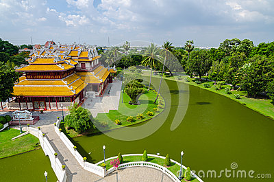 Phra Thinang Wehart Chamrun (Royal Residence
