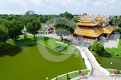 Phra Thinang Wehart Chamrun (Royal Residence