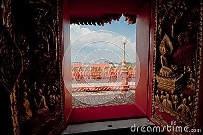 Phramahathat Khannakhon tower, Khonkaen Thailand