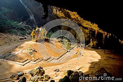 Phraya Nakorn cave.