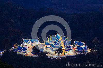 Phu kon forest temple in udorn thani province